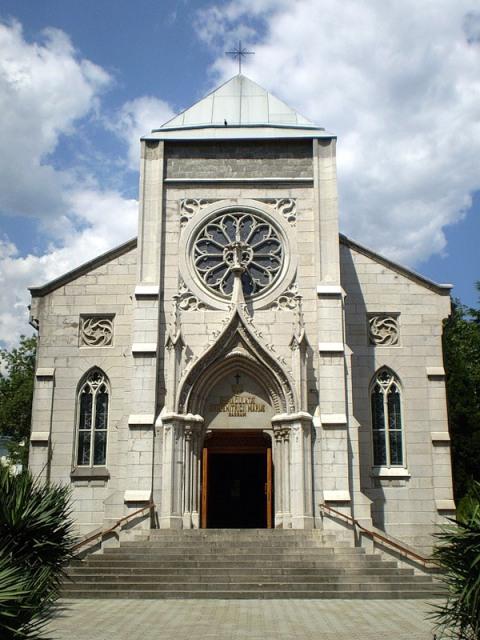 rimo katolicheskiy hram v yalte photo
