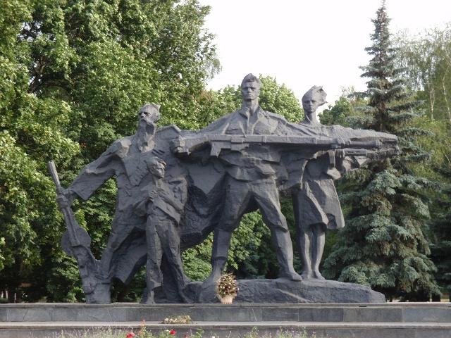 monument Slavy Gerojam Sumwiny photo