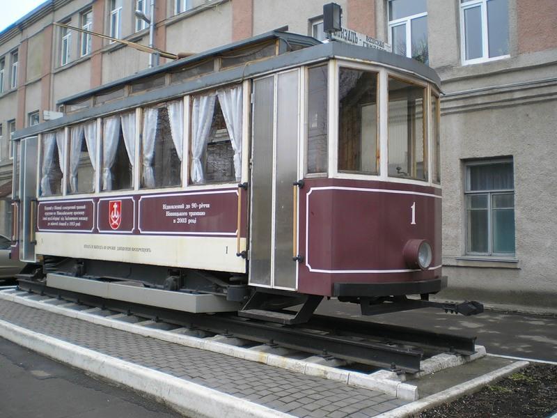 Pervyj jelektricheskij tramvaj photo
